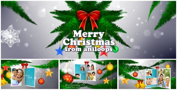 VideoHive Christmas Memories 3573339