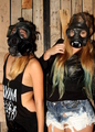 Women with gasmasks - PhotoDune Item for Sale