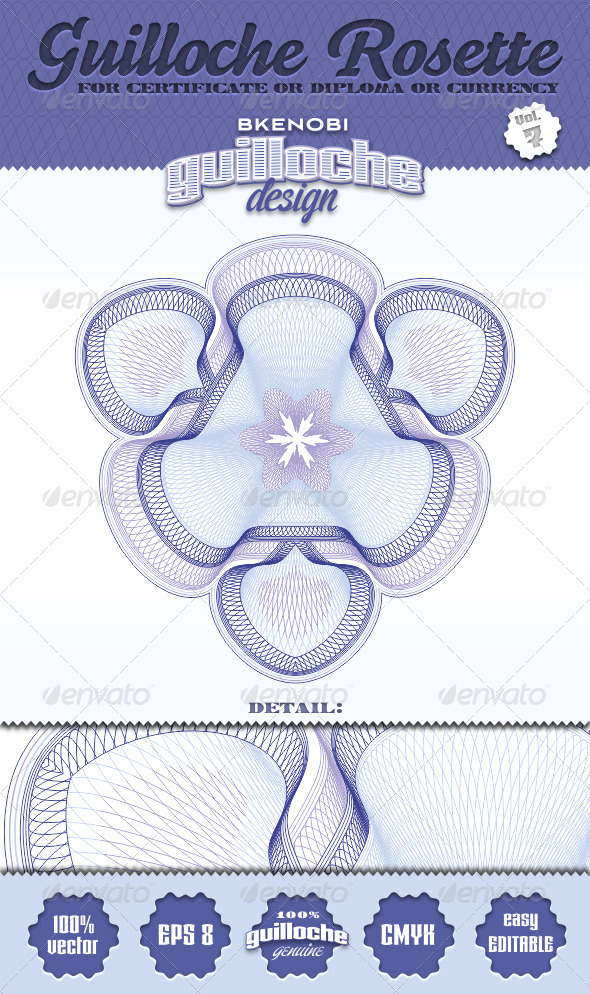 GraphicRiver Guilloche Rosette Vol.7 3573867