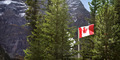 Canadian Flag In National Park - PhotoDune Item for Sale