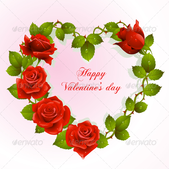 GraphicRiver Valentines Day Vector Postcard 02 3574875