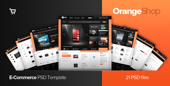 Daily Brands Store - eCommerce PSD Template