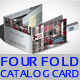 Four Fold Catalog Card - 2 - GraphicRiver Item for Sale