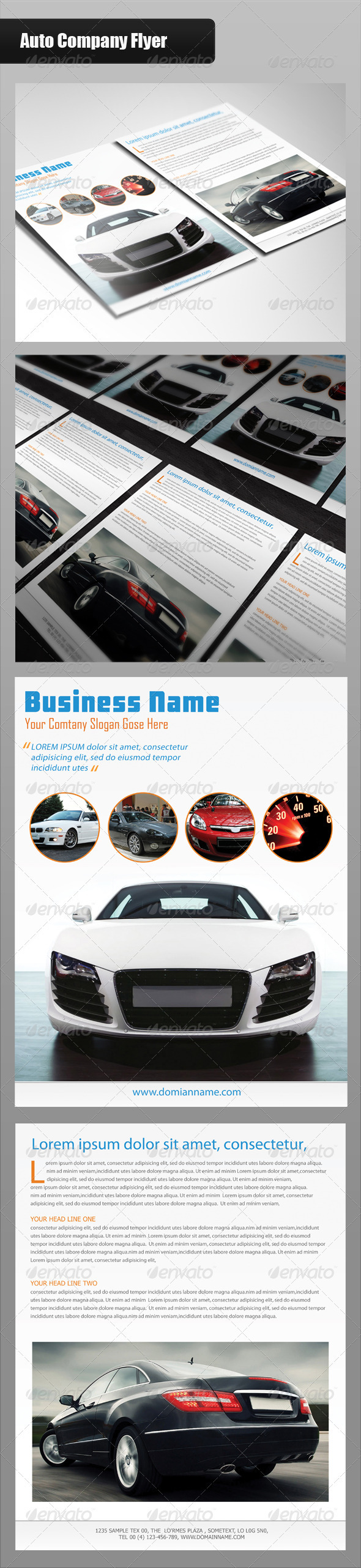 Auto Company Flyer - Commerce Flyers