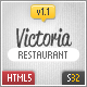 Victoria Responsive HTML5 Template - ThemeForest Item for Sale