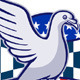 Racing Pigeon Race Flag American Stars Stripes  - GraphicRiver Item for Sale