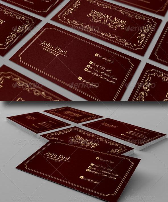 GraphicRiver Elegant Business Card 3578167