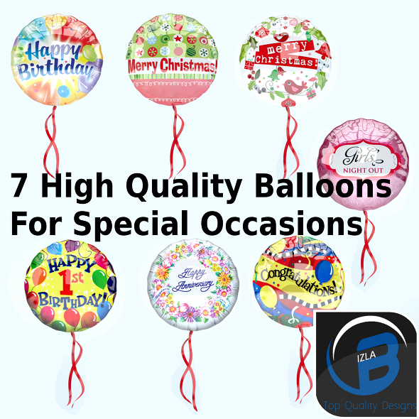 3DOcean Special Occesions Balloons 3579736