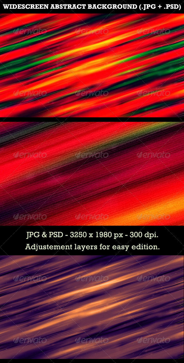 GraphicRiver Widescreen Abstract Background 3580134