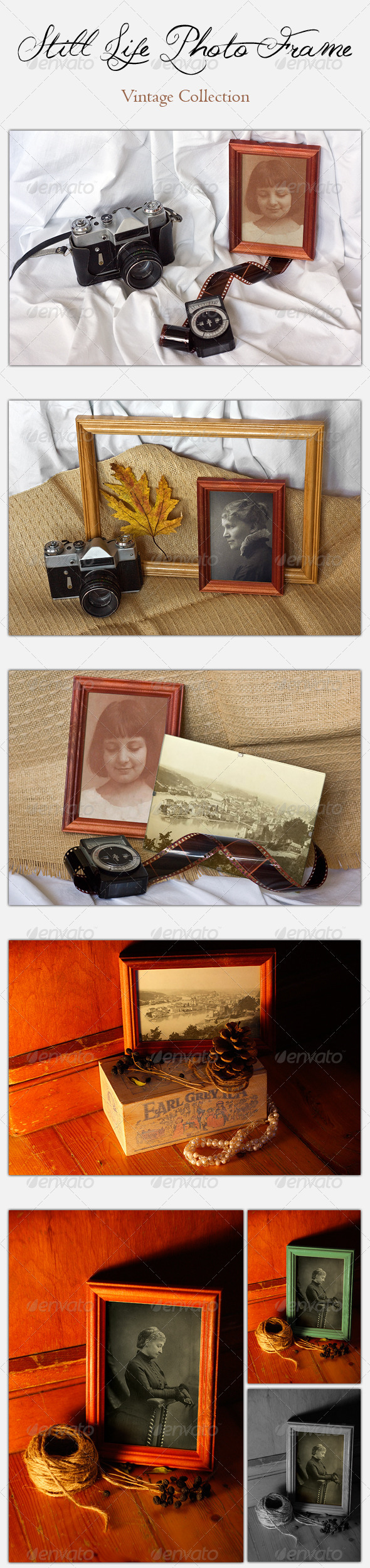 GraphicRiver Still Life Photo Frame Vintage Collection 3580445