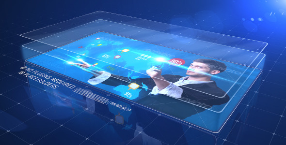 VideoHive Glass Corporate 3581360
