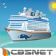 Vector Cruise Sailing Ship - GraphicRiver Item for Sale