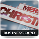 X-Mas Business Card - GraphicRiver Item for Sale