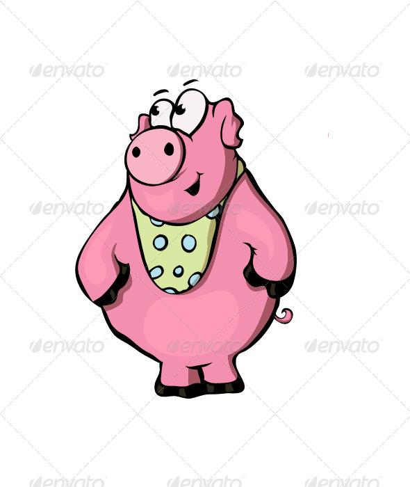 GraphicRiver Pig 3582424