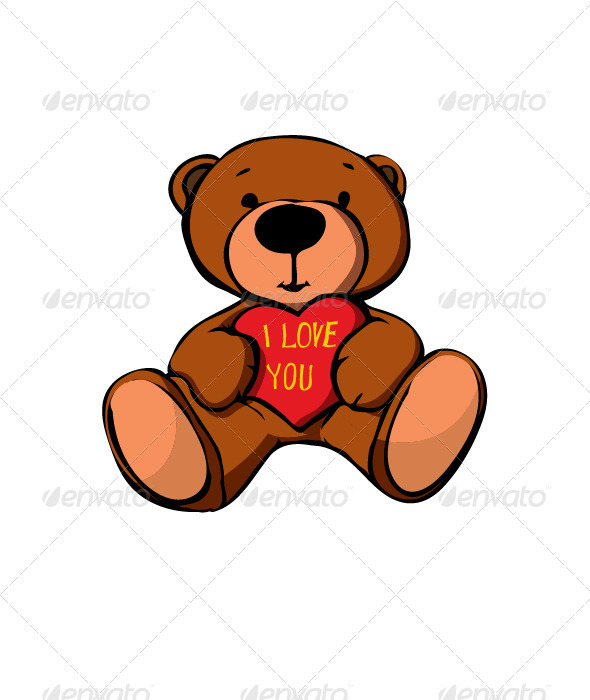 GraphicRiver Teddy Bear 3582459