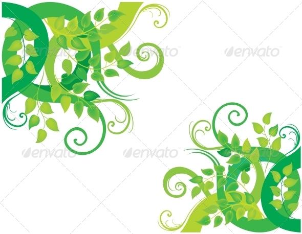 GraphicRiver Green Decorative Background 3583565