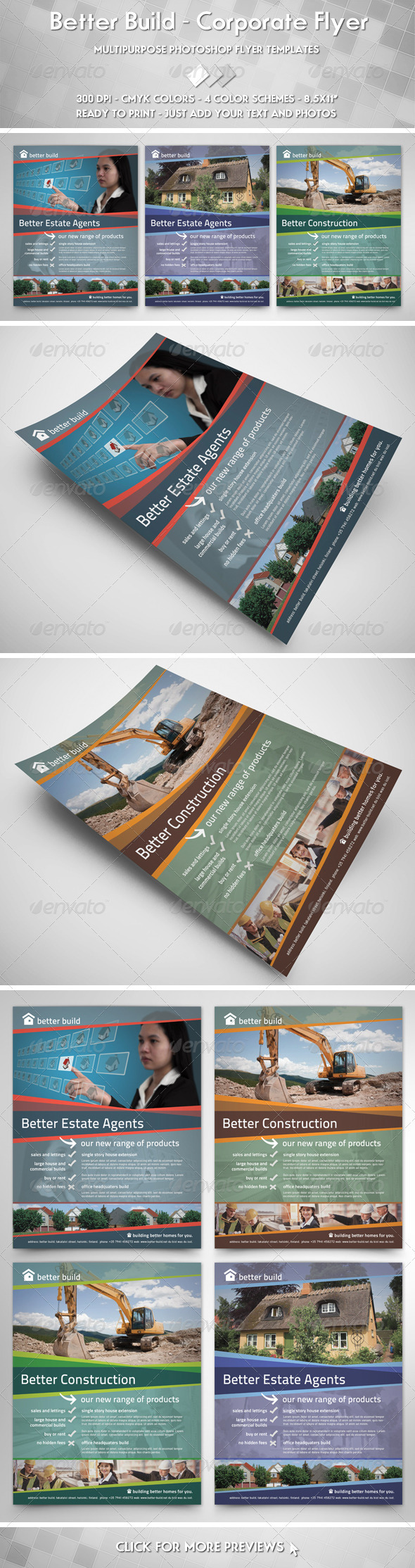 GraphicRiver Better Build Flyer 3458439