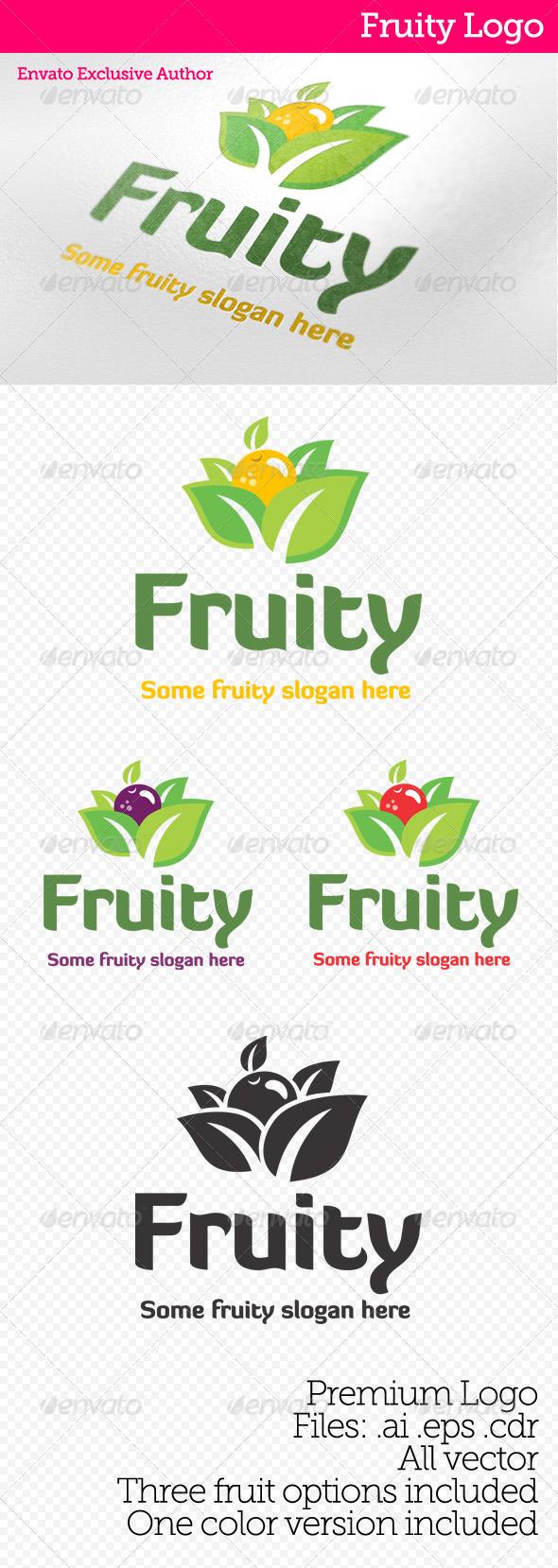 GraphicRiver Fruity Logo 3583772