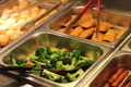 Broccoli Carrot Vegetable Mix at Buffet Table - PhotoDune Item for Sale