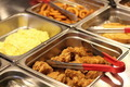 Crispy Deep Fried Chicken Wings at Buffet - PhotoDune Item for Sale