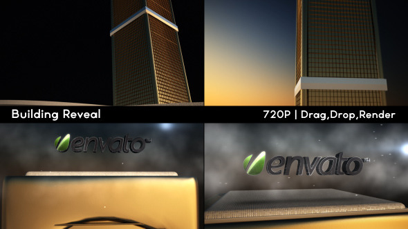 VideoHive Building Logo Reveal 3585398