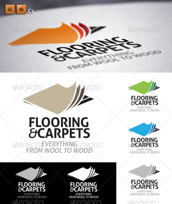 Flooring&Carpets - Objects Logo Templates