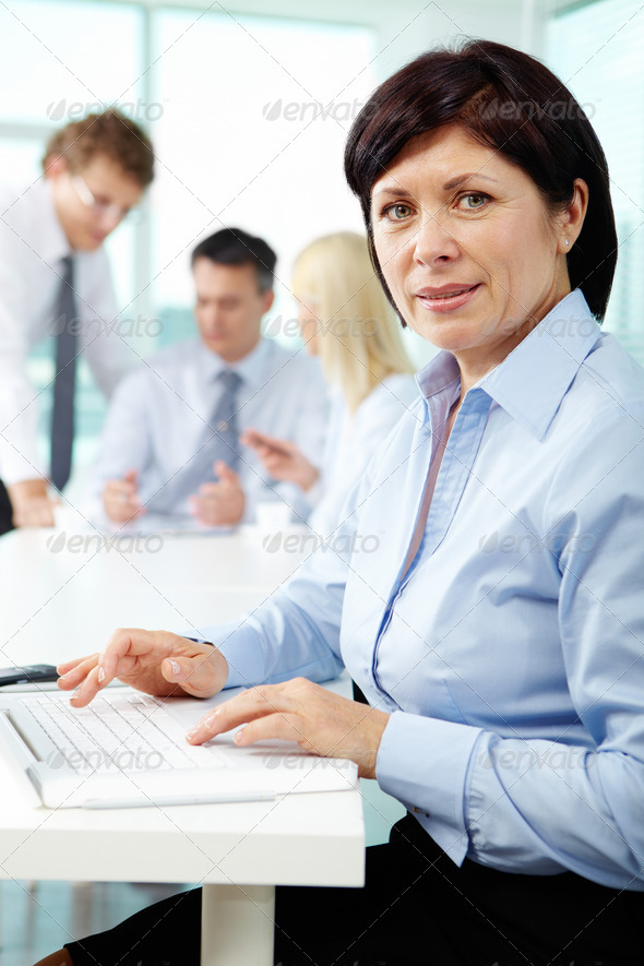Successful female - Stock Photo - Images