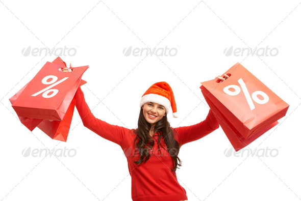 Christmas offer - Stock Photo - Images