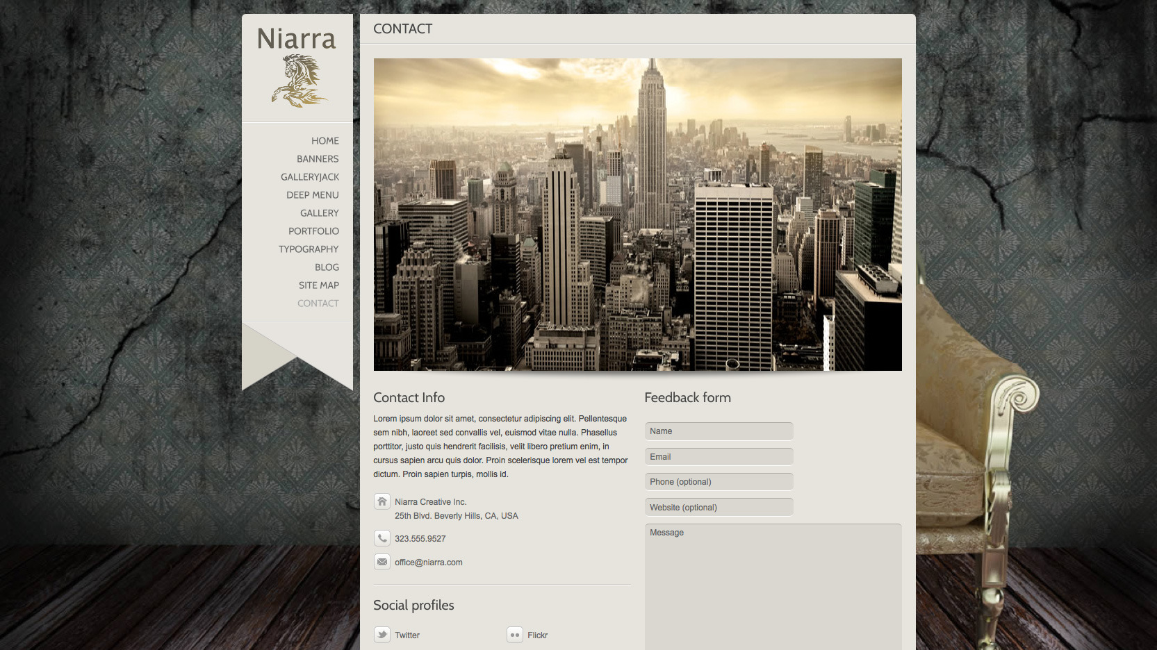 Niarra - Creative Responsive WordPress Theme