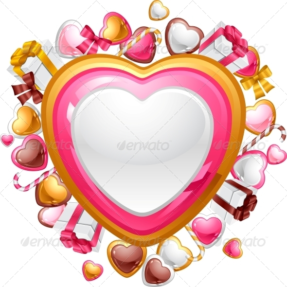 GraphicRiver Valentine s Day Vector Background 3587619