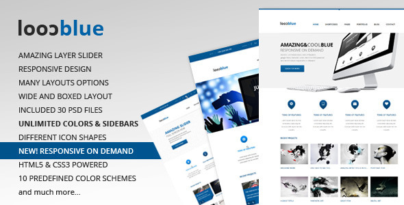 ThemeForest Coolblue Responsive Multipurpose Wordpress theme 3552434