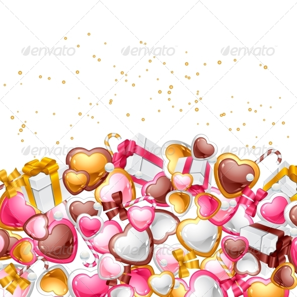 GraphicRiver Valentine s Day Vector Background 3587973