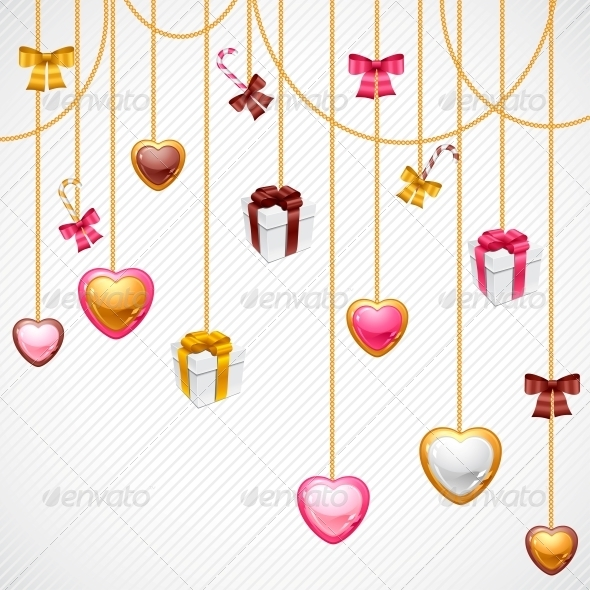 GraphicRiver Valentine s Day Vector Background 3587977