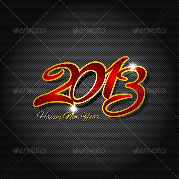 GraphicRiver New Year Background 3588332