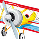 Plane with Banner - GraphicRiver Item for Sale