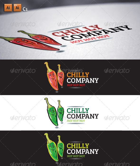 Chilly Company - Food Logo Templates