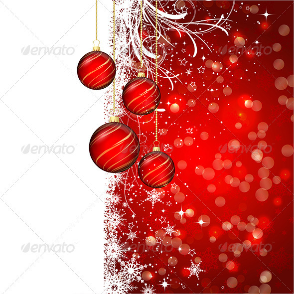 GraphicRiver Christmas Background 3588984