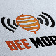 Bee Mobile Logo - GraphicRiver Item for Sale