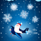 Santa on the Airplane - GraphicRiver Item for Sale