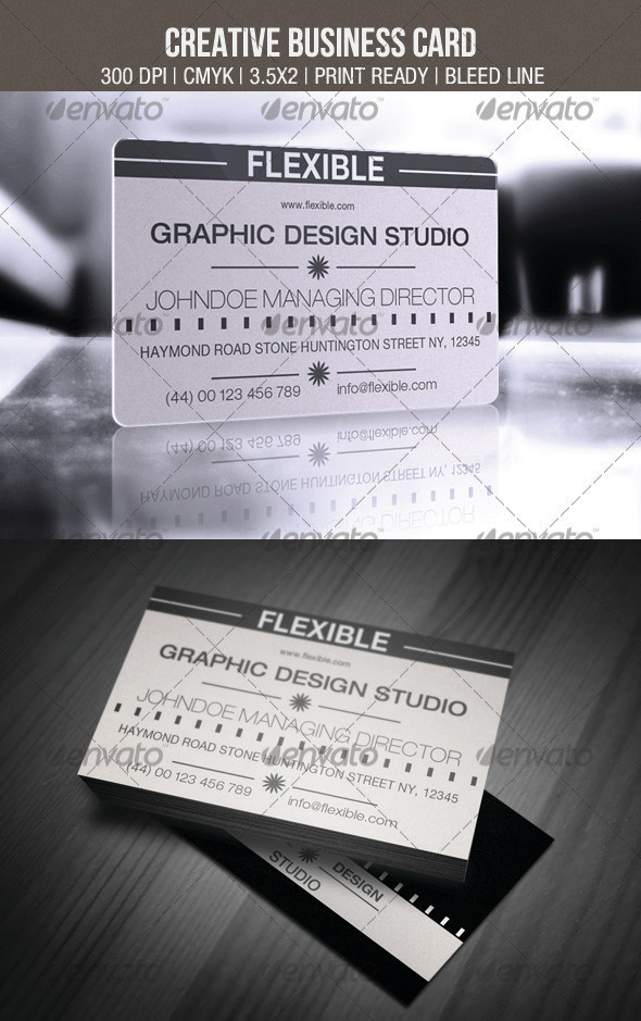 GraphicRiver Creative Business Card 3549319