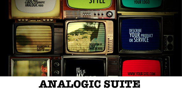 VideoHive Analogic Suite 3568341
