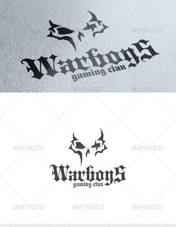 GraphicRiver War Boys Logo 3554929