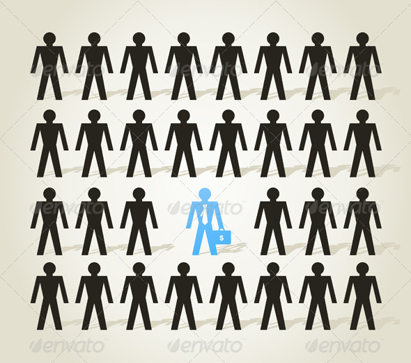 GraphicRiver Crowd of People 3592531