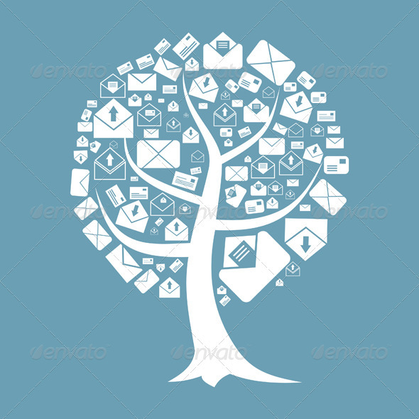GraphicRiver Tree of Letters 3592572