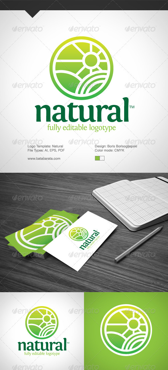 Natural Logotype - Nature Logo Templates