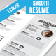 Gstudio Smooth Resume - GraphicRiver Item for Sale