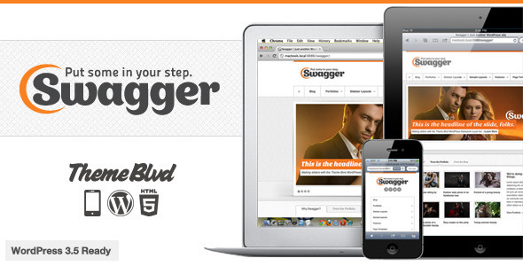 Swagger Responsive WordPress Theme - Business Corporate
