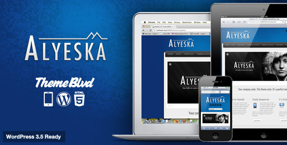 Alyeska Responsive WordPress Theme - Business Corporate