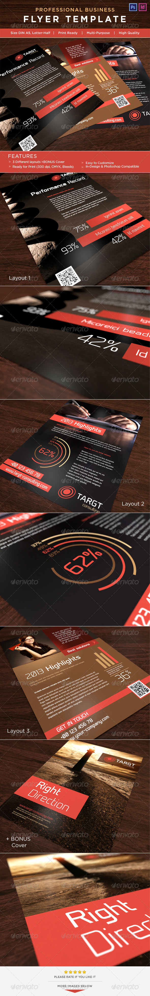 GraphicRiver Corporate Flyer AD Template 3598465
