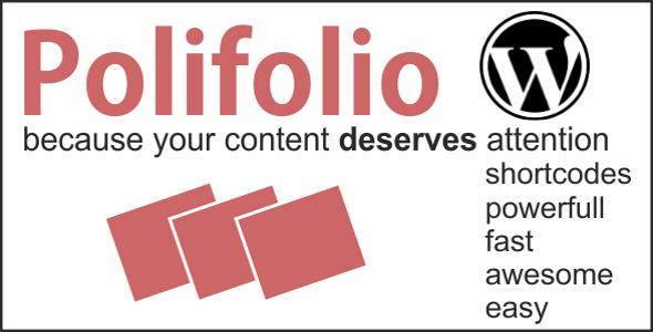 Polifolio - Plugin for WordPress